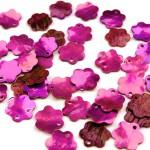 Kwiatki z masy perłowej